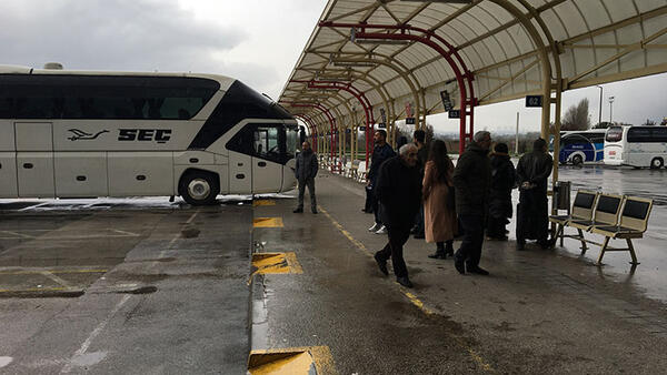 Bursa'da şehirlerarası otobüs terminalleri kapandı