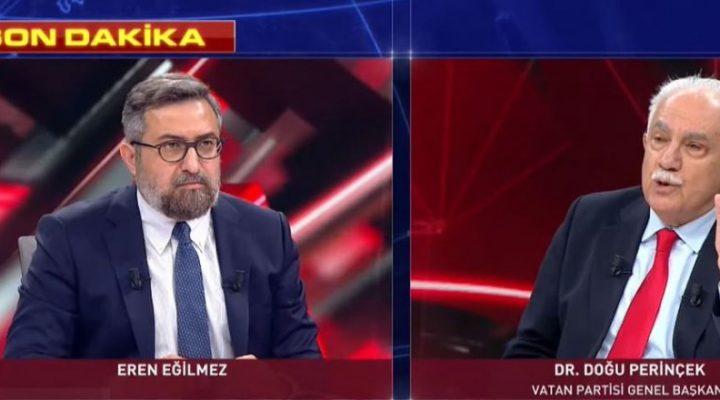 Perinçek'ten Hükümete Eleştiri