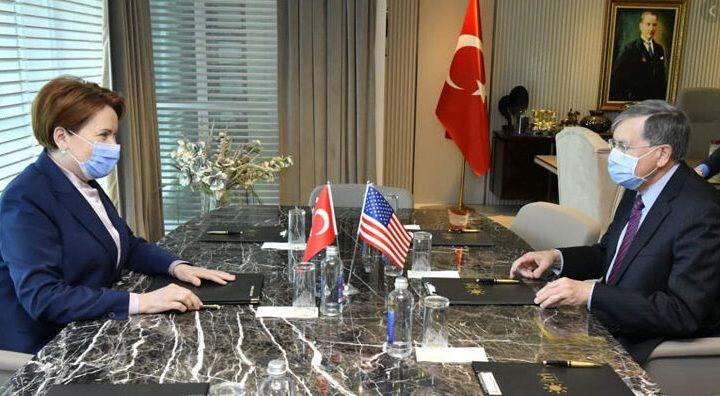 ABD Büyükelçisi Satterfield  Akşener'i ziyaret etti