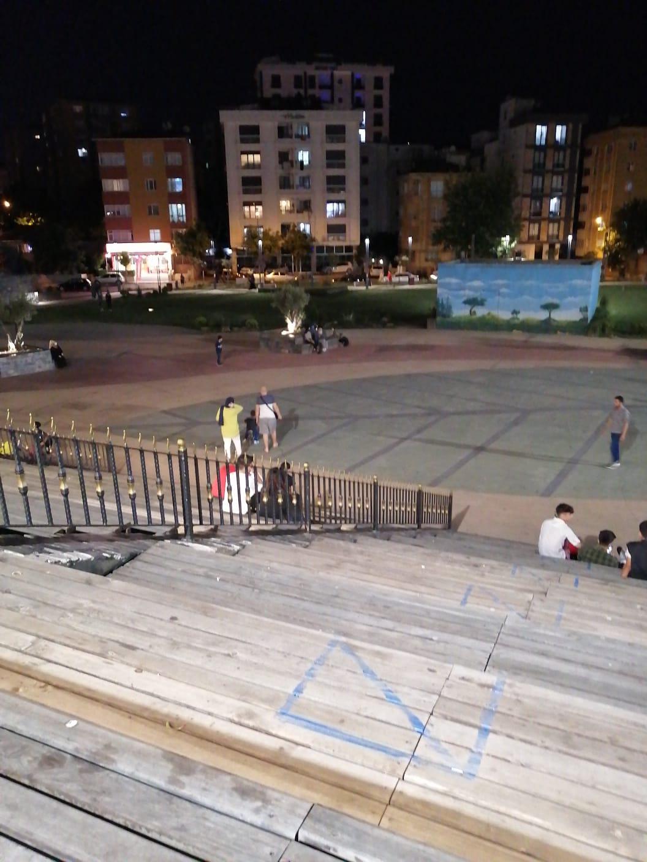 Cevizli Meydan Parkı Güvenlik Sorunu